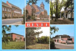 Bevel (Nijlen-Antwerpen)-Multivues-Groeten Uit Bevel (6 Zichten)-O.L.V.Kerk-Kruiskensberg-parochiecentrum-School - Nijlen