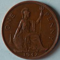 Grande-Bretagne - 1 Penny - 1947 - 1902-1971 : Monete Post-Vittoriane