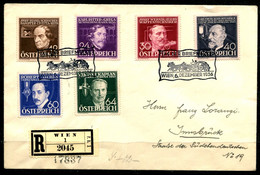1217) Tag D. Briefmarke 1936 - FDC - Satzbrief - FDC