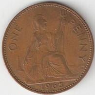 Grande-Bretagne - 1 Penny - 1965 - 1902-1971 : Monete Post-Vittoriane