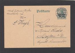 GANZSACHE AUS KOWNO (KAUNAS,LITAUEN). - Occupation 1914-18