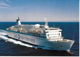"Paquebot Transbordeur  "" LIBERTE"" - Gros Plan - Schiffe"