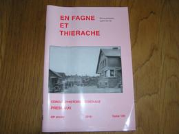 EN FAGNE ET THIERACHE N° 189 Régionalisme Château L'Escaillère Frasnes Lez Couvin Carrières De Pierre Pesche Robechies - Bélgica