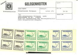 "9671""1941-OSTPREUSSEN FELDPOST LGPA KONIGSBERG Pp Nr. L34622-MNH"" - Unused Stamps"