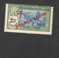 FRENCH INDIA   ....1941-1943: Yvert 199  Mnh** - Unused Stamps