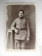 PHOTO - Militaria - Photo D'un Militaire En Uniforme (1 Au Col) - Guerra, Militares