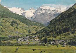 (L281) - AYAS PERIASC (Aosta) - Scorcio Panoramico E, Sullo Sfondo, Il Ghiacciaio Del Monte Rosa - Aosta