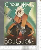 PG / Vintage // PROGRAMME CIRQUE D'HIVER BOUGLIONE @@   1952 Emilien BOUGLIONE / SAMPION Bouglione /CHARLY RIVELS - Programmes