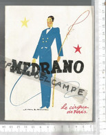 PG / Vintage // PROGRAMME CIRQUE MEDRANO  @@   1949 ///   LES FRATELLINI - Programmes