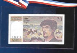 Très Rare 20 Francs Debussy Alphabet W10 - 1962-1997 ''Francs''