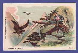 CHOCOLAT LOUIS Chasse A L Aigle Tyrol  ( Très Très Bon état ) X112 - Pubblicitari