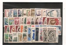 FRANCE 1961  N° 1281/1324** - 1960-1969