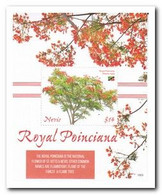 Nevis 2019, Postfris MNH, Trees - Anguilla (1968-...)