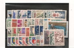 FRANCE 1962  N° 1235/1367** - 1960-1969