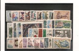 FRANCE 1963  N° 1368/1403** - 1960-1969