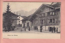 OUDE POSTKAART ZWITSERLAND - SCHWEIZ -    SUISSE -     GRUSS VON  BRIENZ - - BE Berne
