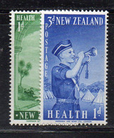 ZEL368 - NUOVA ZELANDA 1958 ,   Yvert N. 368/369  ***  MNH (2380A) SCOUTS - Nuovi