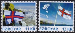 Faroe Islands 2015. 75th Anniversary Of Faroese Flags.  MNH - Faeroër