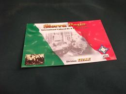 CARTA QLS SIERRA PAPA  SPECIAL QSL FLAG ITALY RADIO FOUNDATION G. MARCONI'S MEMORY LA SPEZIA LIGURIA - Radio Amatoriale