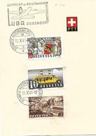 "244 - 1 - Feuillet Avec Oblit Spéciale ""Luftpost Briefmarken Dübendorf 1941"" - Postmark Collection"