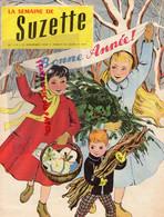 LA SEMAINE DE SUZETTE- N° 110- 31  DECEMBRE 1959-  BONNE ANNEE -RADIO LUXEMBOURG MICHEL FERRY-REDINGOTE POUPEE BLEUETTE - Ohne Zuordnung