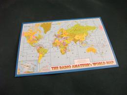 CARTA QLS THE RADIO AMATEUR'S WORLD MAP - Radio Amatoriale