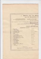 Charleroi - Salle De La Bourse - Grande Audition - 1924 - Programmes