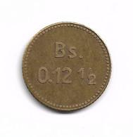 LEPROSERIE DE L'ILE DE LA PROVIDENCE - 0,12 1/2 BOLIVAR 1939 - Venezuela
