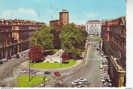 TORINO PIAZZA STATUTO AUTO CAR FIAT 850 S CITROEN DS ALTRE VB1972 HS163 - Places