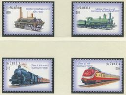 GAMBIA / MiNr. 5108 - 5111 / Lokomotiven Aus Aller Welt (II) / Postfrisch / ** / MNH - Trenes