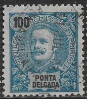 Ponta Delgada – 1897 King Carlos 100 Réis - Ponta Delgada