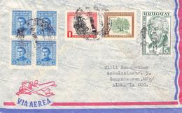 URUGUAY - AIRMAIL - GUNZENHAUSEN/GERMANY / Ak834 - Uruguay