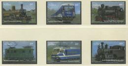 GAMBIA / MiNr. 5086 - 5091 / Lokomotiven Aus Aller Welt (I) / Postfrisch / ** / MNH - Trenes