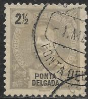 Ponta Delgada – 1897 King Carlos 2 1/2 Réis - Ponta Delgada