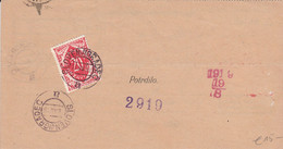 Slovenia SHS 1920 Postal Money Order With SHS Postage Due Stamp, Postmark SLOVENJGRADEC - Slovenia