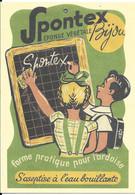 CPA-PUBLICITAIRE-2018--REPRO-CARTE /1933-SPONTEX-Eponge Végétale Pour Ardoise-85ANS-TBE-RARE - Pubblicitari