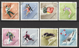 Ungarn 2379/86A O Olympia Grenoble 1968 - Hungary