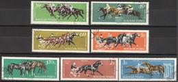 Ungarn 1776/82A O Pferdesport - Hungary