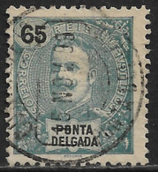 Ponta Delgada – 1898 King Carlos 65 Réis - Ponta Delgada