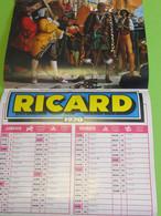 Grand Calendrier Commercial  Pour Débit De Boisson/RICARD/ 6 Pages/ Gianni Brusamolino/Bordeaux-Lille-Dijon/1970  CAL471 - Calendari