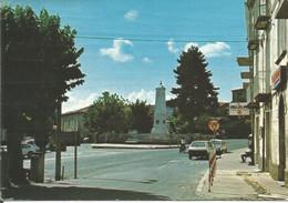 (CZ) SOVERIA MANNELLI, PIAZZA DEI MILLE - Cartolina Nuova, Animata, Auto, Leggermente Danneggiata - Altre Città