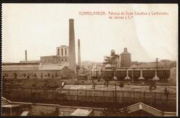 Torrelavega - Fabrica De Sosa Caustica Y Carbonato De Solvay Y Ca - Edic. Artes Graficas Fernandez - 2 Scans - Cantabria (Santander)