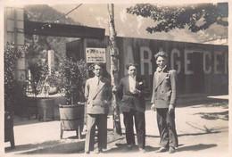 """1537""""FOTO- MODANE- GRUPPO AL GARAGE CENTRALE"""" ANNO 1928 - Luoghi"""