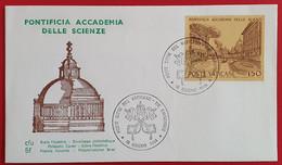 VATICANO VATIKAN VATICAN 1984 PONTIFICIA ACCADEMIA DELLE SCIENZE FDC - Non Classés