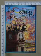 PORTUGAL - QUEIMA DAS FITAS - 2013 -  COIMBRA -   2 SCANS     - (Nº38473) - Coimbra