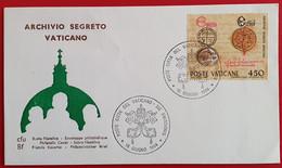 VATICANO VATIKAN VATICAN 1984 ARCHIVIO SEGRETO VATICANO FDC - Non Classés