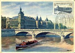 Congrès De L'UPU La Conciergerie 7/5/1947 Cachet Illustré Exposition Lavalette Musée Postal Paris Carte édition Artaud - 1940-49