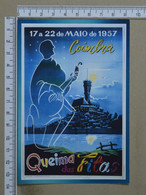 PORTUGAL - QUEIMA DAS FITAS - 1957 -  COIMBRA -   2 SCANS     - (Nº38474) - Coimbra