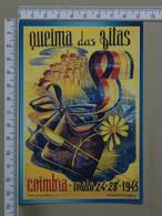 PORTUGAL - QUEIMA DAS FITAS - 1945 -  COIMBRA -   2 SCANS     - (Nº38475) - Coimbra