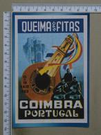 PORTUGAL - QUEIMA DAS FITAS - 1983 -  COIMBRA -   2 SCANS     - (Nº38479) - Coimbra